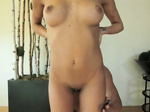 Oiling Up The Beautiful Babe Before Fucking Her