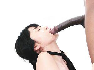 Fit Black Guy With A Big Dick Fucks The Asian Girl