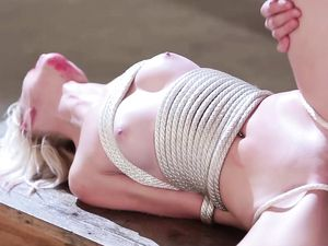 Tightly Rope Bound Teenager Fucked By Her Master