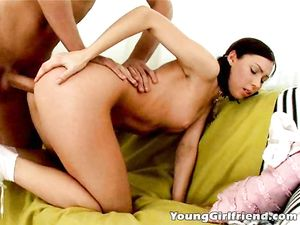 Ass Stretching Sex Makes The Pigtailed Teen Moan
