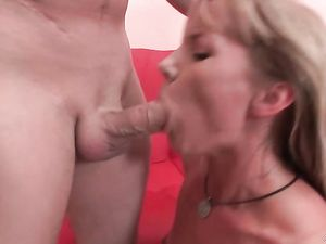Titty Pinching And Rough Face Fucking With A Blonde Slut