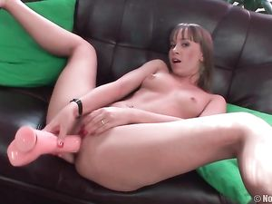 Teen In A Slutty Dress Does A Hot Double Penetration