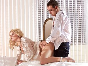 Romance Is In The Air During An Erotic Fuck Scene