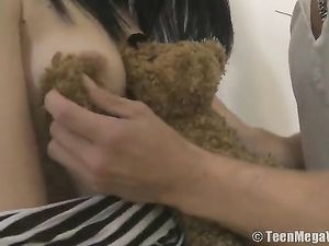 Slippery Young Pussy Is Tight Around A Big Cock