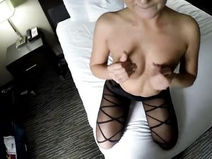 Escort Puts On Lingerie To Get Fucked In POV