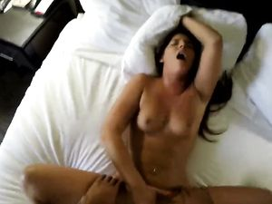 Leopard Print On His Naughty Hooker Taking Dick