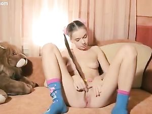 Cutest Teenager Ever Shows Us Her Shaved Pussy