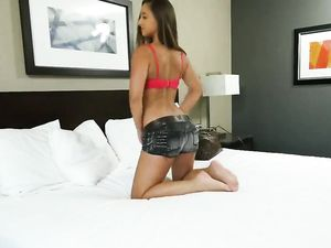 Fine Ass Teen Takes Him All Up In Her Wet Pussy
