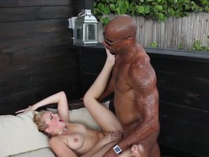 Riding BBC Makes The Blonde Cutie Cum Hard