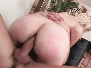 Ass Cheeks Spread Wide For Teen Anal Fucking