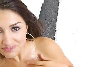 Scarlet Banks Facial After A Beautiful Blowjob
