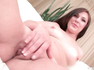 Brunette Darling Gets A Doggy Style Fucking