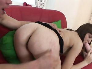 Dildo In Her As Before Getting A Dong Inside