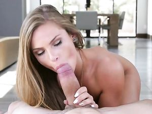 Big Cock Sucked Erotically By Gorgeous Sydney Cole